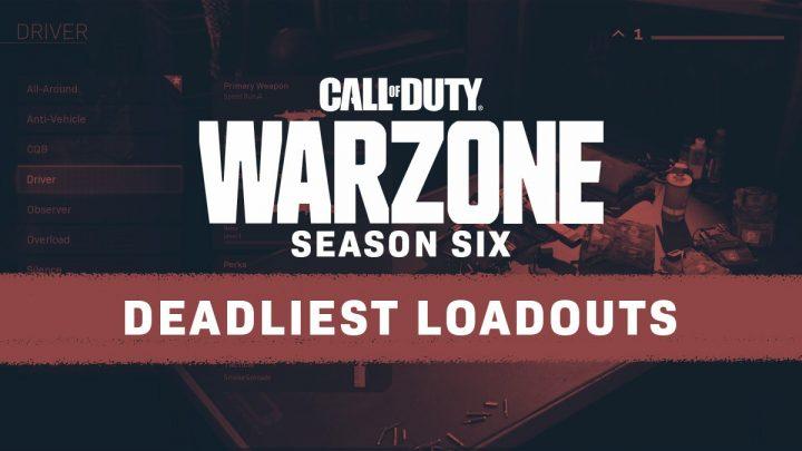 CoD Season 6 New Gun Loadouts