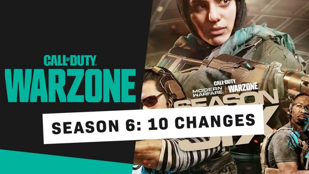 Warzone Season 6 Changes