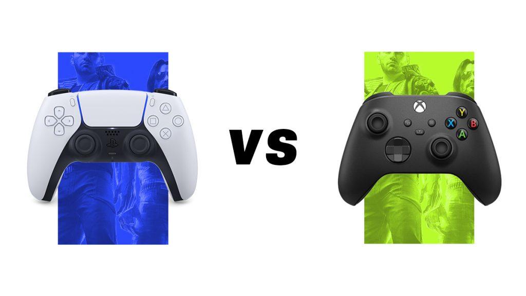 PlayStation 5 DualSense vs Xbox Series X Controller Gamepad