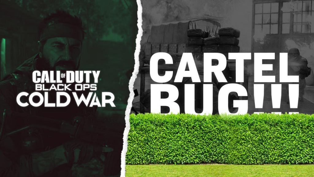 Black Ops Cold War Cartel no Bush Bug