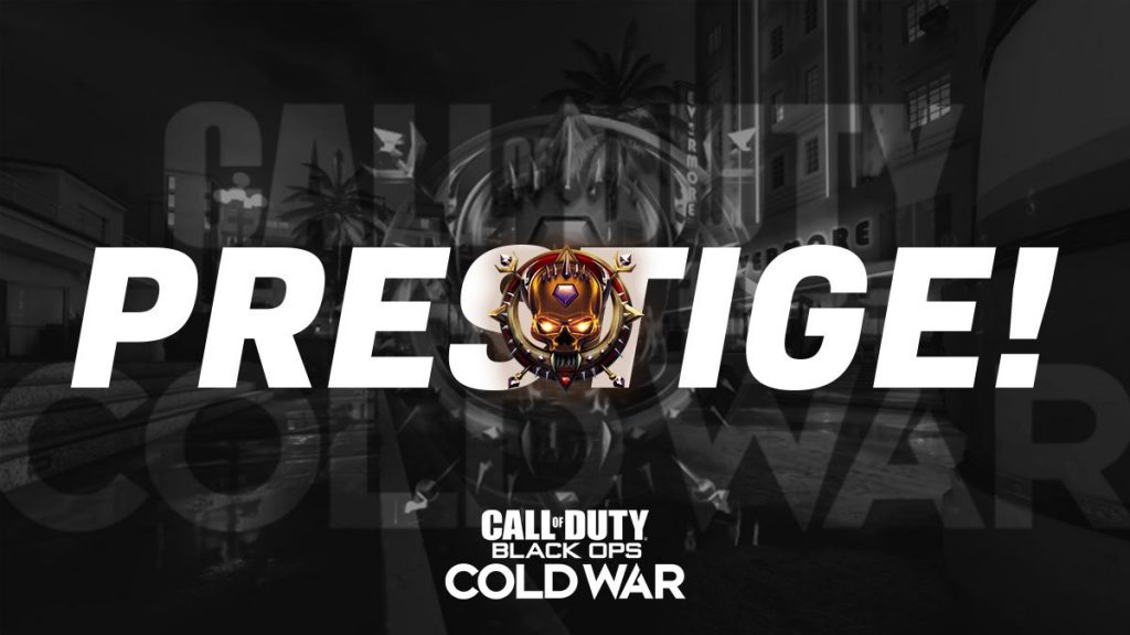 Black Ops Cold War Prestige System