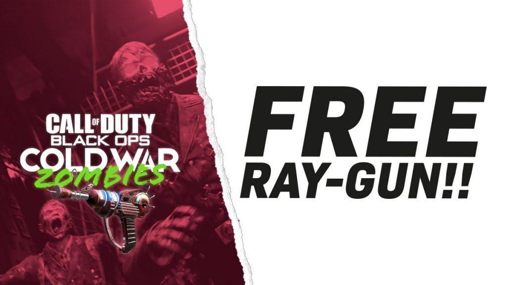 Cold War Zombies Free Ray Gun