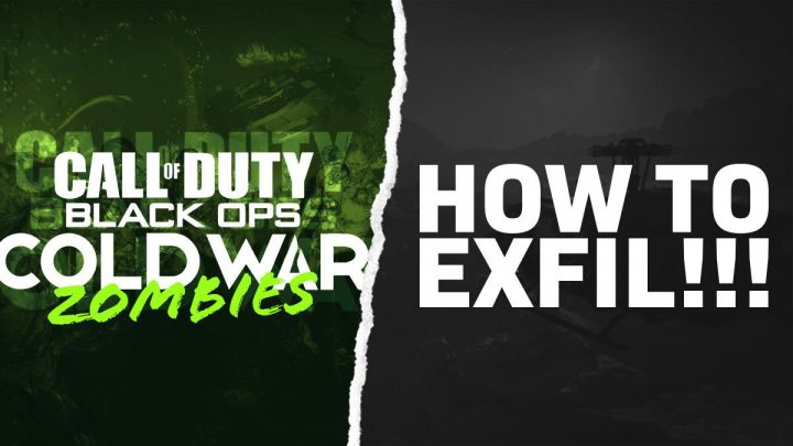 How to Exfil in Black Ops Zombies Cold War