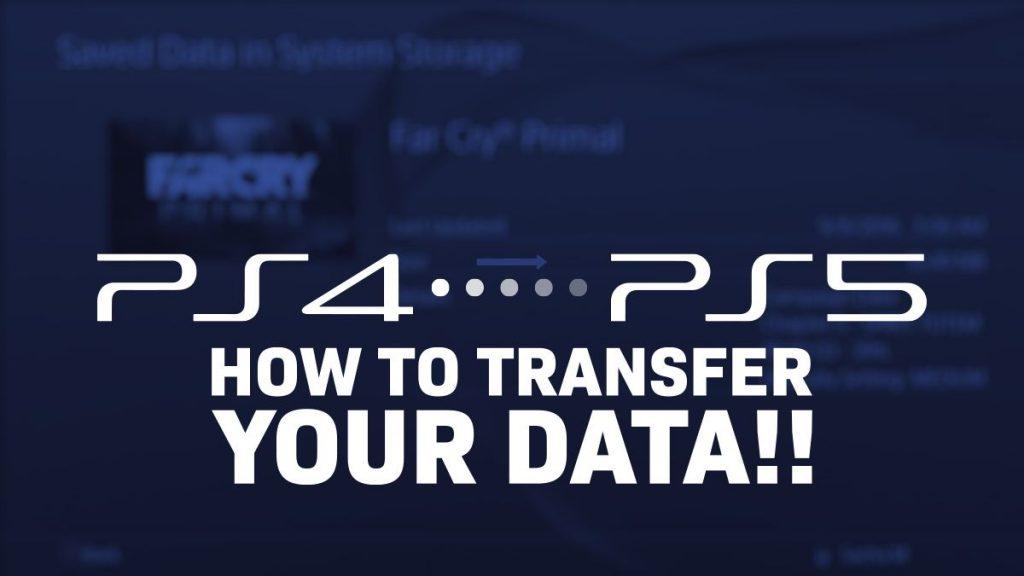PS5 Data Transfer Guide