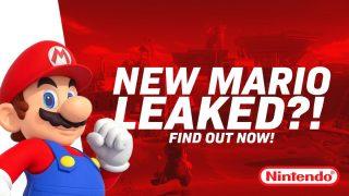 New Mario Game Leak