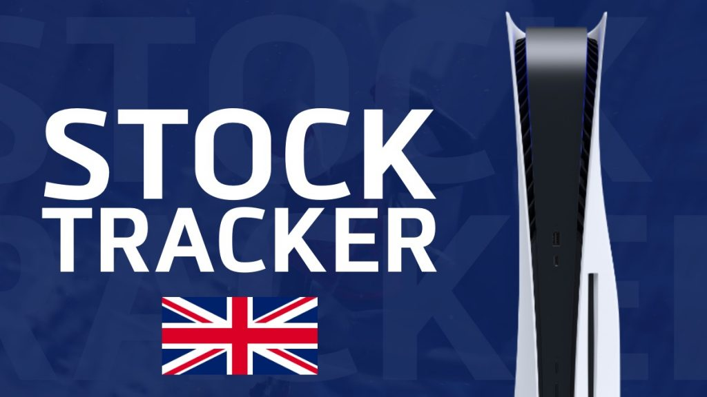 PS5 Stock Tracker UK