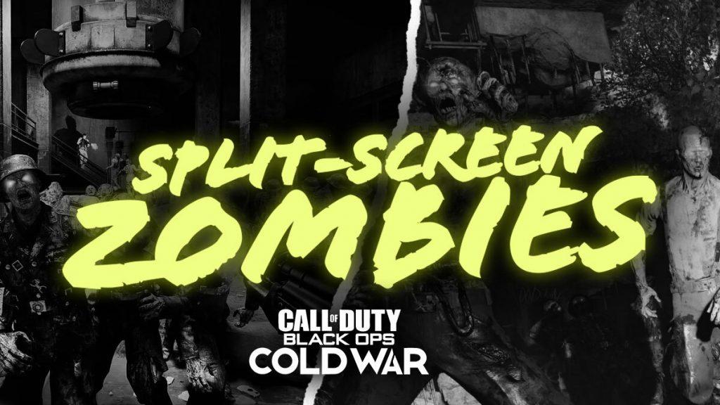 Split-Screen Zombies Cold War
