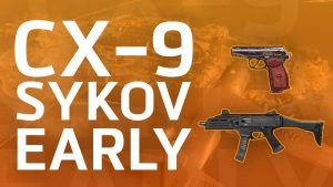 Unlock CX-9 SYKOV Early in Warzone