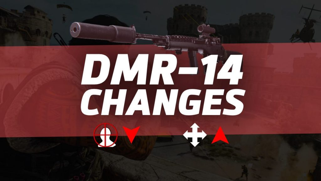 DMR-14 Nerf Changes in Warzone
