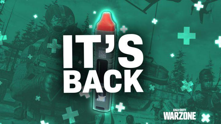 Warzone Infinite Stim Glitch Back