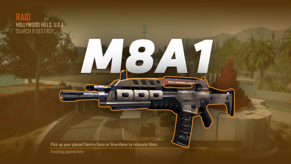 M8A1 in Call of Duty Black Ops 2