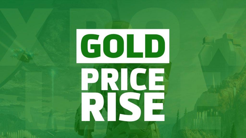 Xbox Live Gold Price Rise