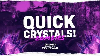 quick flawless refined Crystals Black Ops Cold War Zombies
