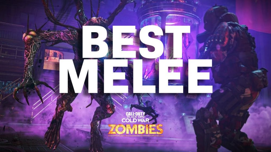Black Ops Cold War Zombies Best Melee Weapon