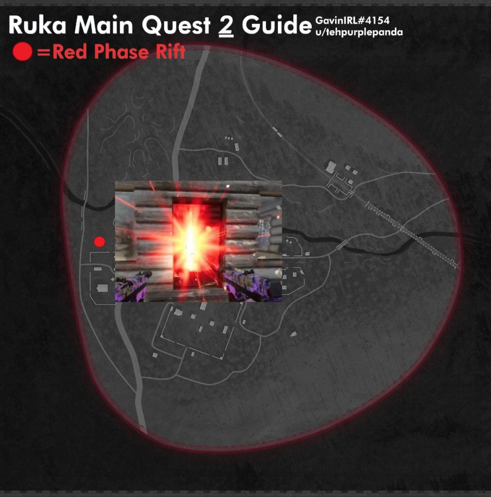 Cold War Zombies Outbreak Easter Egg Ruka Red Phase Rift